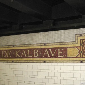 Станция нью-йоркской подземки «De Kalb»