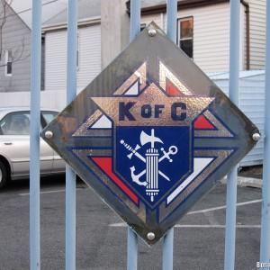 Эмблема Ордена «Рыцырей Колумба»