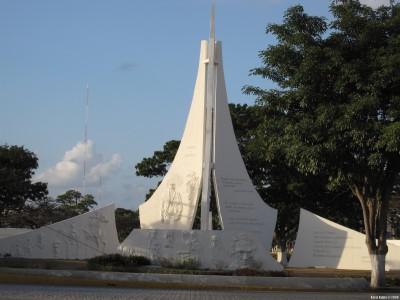 Монумент, посвященный истории Мескики