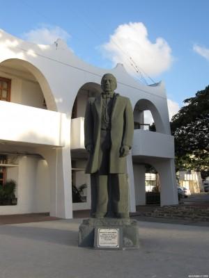 Памятник национальному герою Мексики Бенито Хуаресу