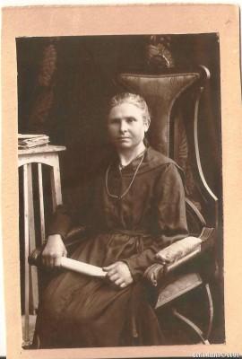Итта Хоновна в 1925 году