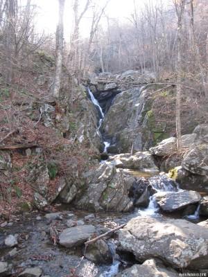 Водопад на Розовой реке