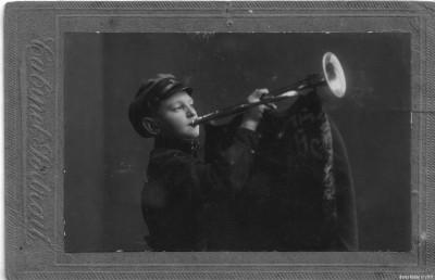 Мамин брат Яша в возрасте 12-ти лет