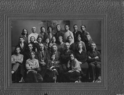 Школа № 6 Второй ступени. Город Томск, 1928 год.