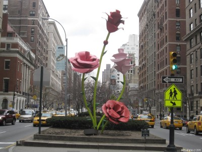 Розы Уилла Римана на Парк авеню