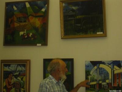 Аркадий Димант рассказывает о своих работах