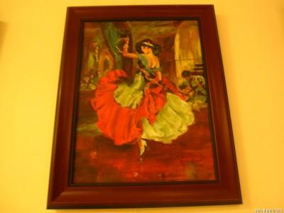 Танцовщица работы И. Будовской