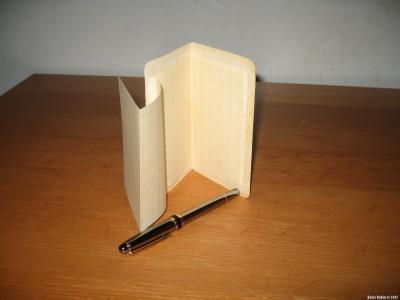 Секретка с вклеенным листком бумаги