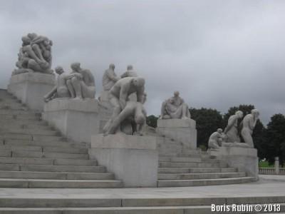 Скульптурные группы в Вигеланд-парке