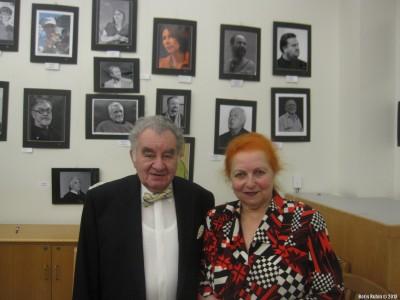 Евгений Вепринский с женой Ольгой