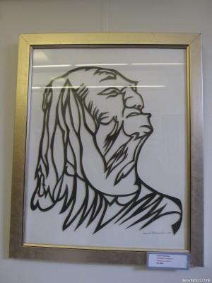 Графический портрет С.Михоэлса