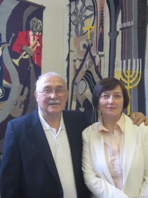 Леонид Алавердов с дочерью Лианой