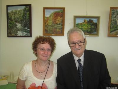 Рудольф Розенблюм с дочерью Мадлен