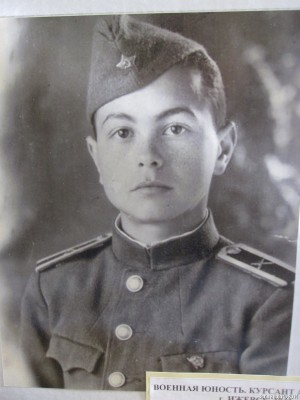 Курсант артиллерийского училища