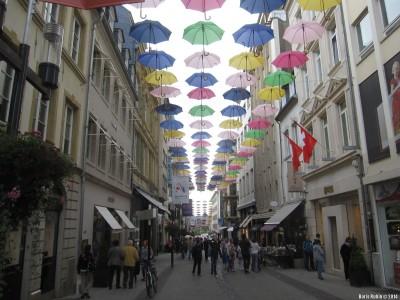 Торговая улица в Люксембурге