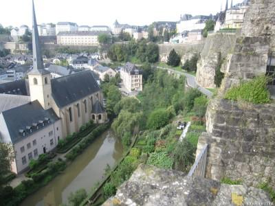 Люксембург - вмд сверху