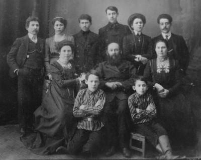 Семейная фотография моего прадеда Аврума Ланиса