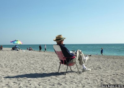 Венеция, штат Флорида. Персионер.