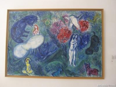 Картина Марка Шагала в музее его имени