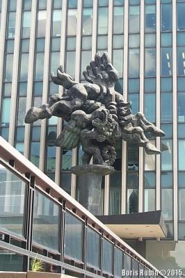 Скульптура работы Жака Липшица