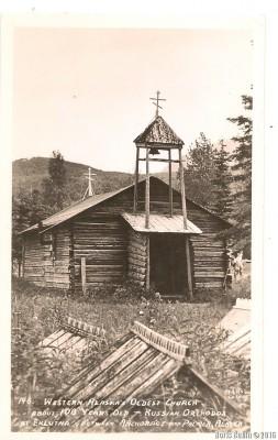 Старейшая православная церковь на Аляске