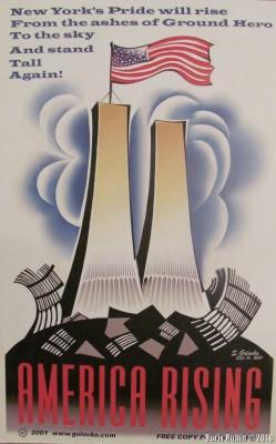 Плакат к событию 9 сентября 2001 года