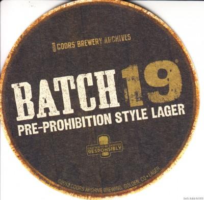 Batch 19 Lager