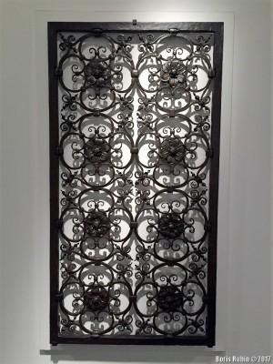 Кованая решетка работы С.Йеллина