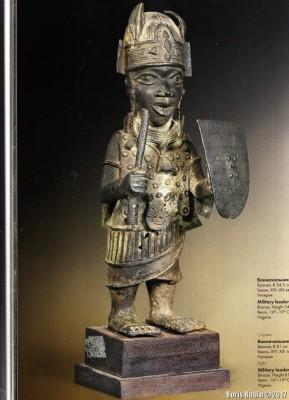 Военачальник, бронза, Нигерия, XVI - XIX век