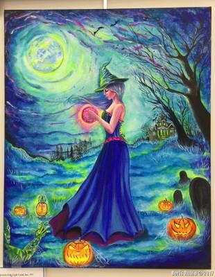 В ночь перед Хеллоуином