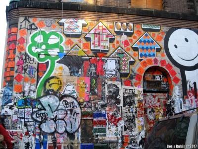 Граффити на стенах Candie Building