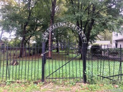 Ворота Van Sicklen Cemetery