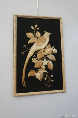 """Птица на ветке"". Л.Шамис"