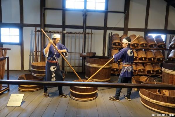 В музее саке