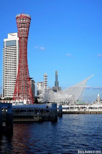 Портовая башня в Кобе