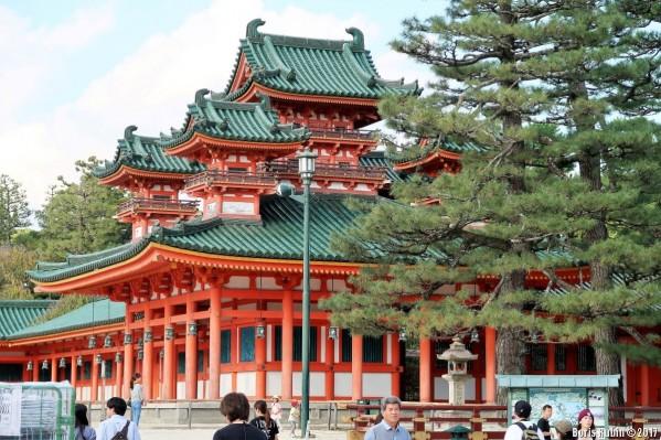 Правое крыло храма Хэйан-дзингу