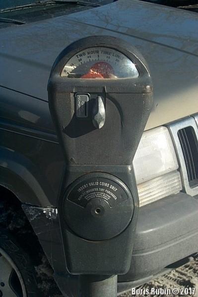 Паркомат с ручным заводом