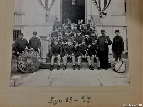 Citizens Corps, август 1897 года, Schenectady