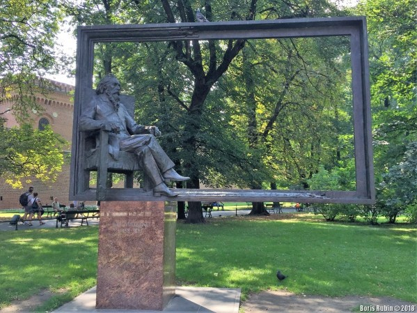 Памятник Яну Матейке в Кракове