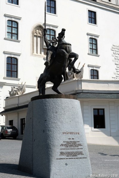 Памятник Святоплуку в Братиславе