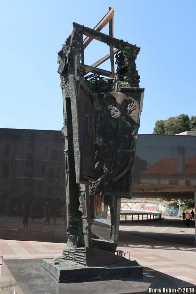 Памятник жертвам Холокоста в Братиславе