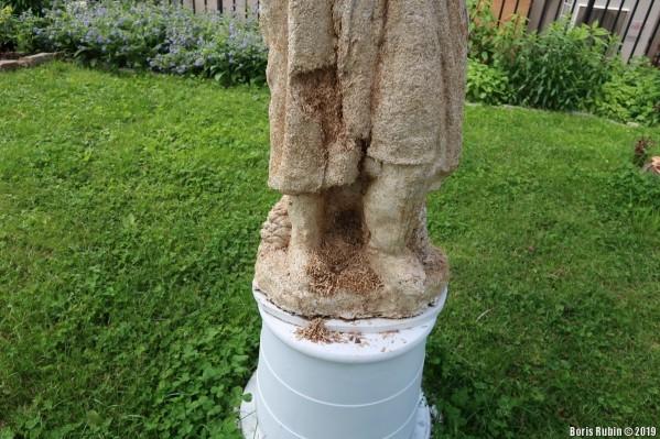 Гниющий участок статуи