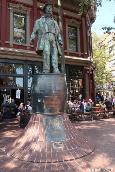 Памятник Болтливому Джеку (Gassy Jack)
