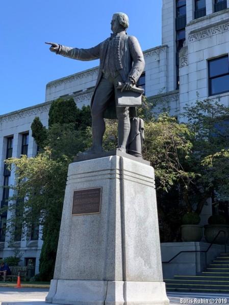 Памятник капитану Джорджу Ванкуверу