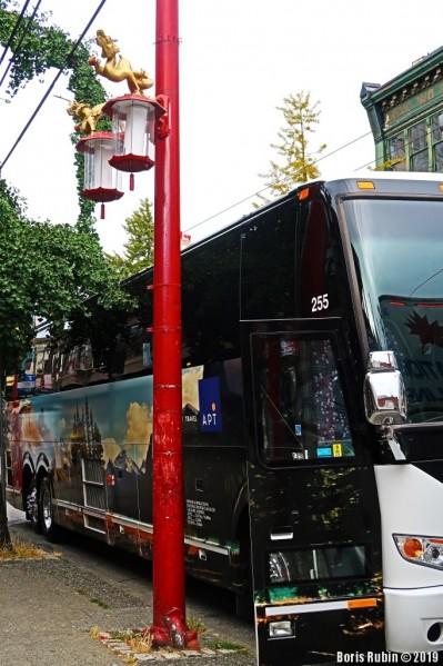 Фонарный столб в China Town