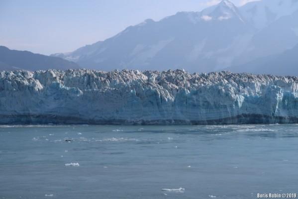 Слоистый ледник Хаббарда