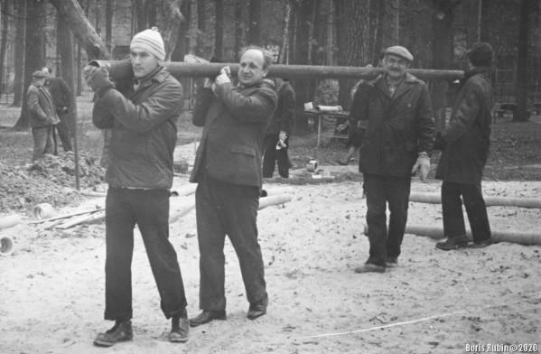 Киев, субботник, 1978