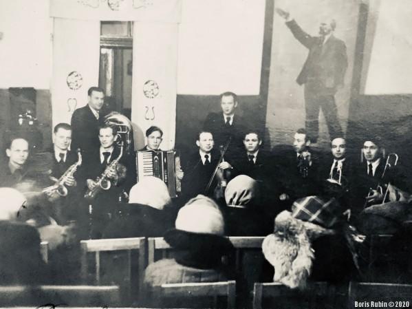 Концерт на избирательном участке в Новосибирске, 1947 год