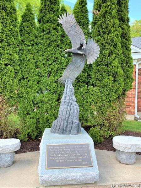 Мемориал около Oxford Town Hall